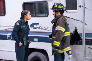 Promotional Photos of Station 19 episode Baby Boom